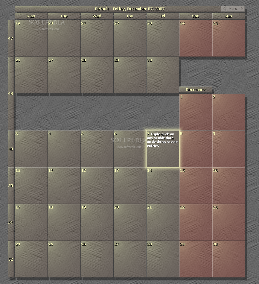 Calendar Wallpaper Hd : Cool wallpapers calendar desktop hd