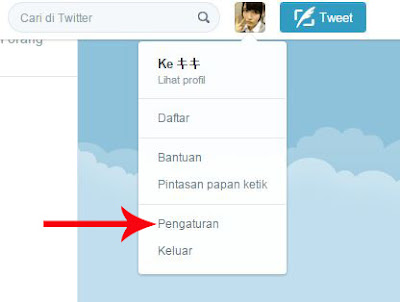 Cara Memasang Background Twitter