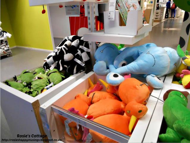 Ikea stuffed toys