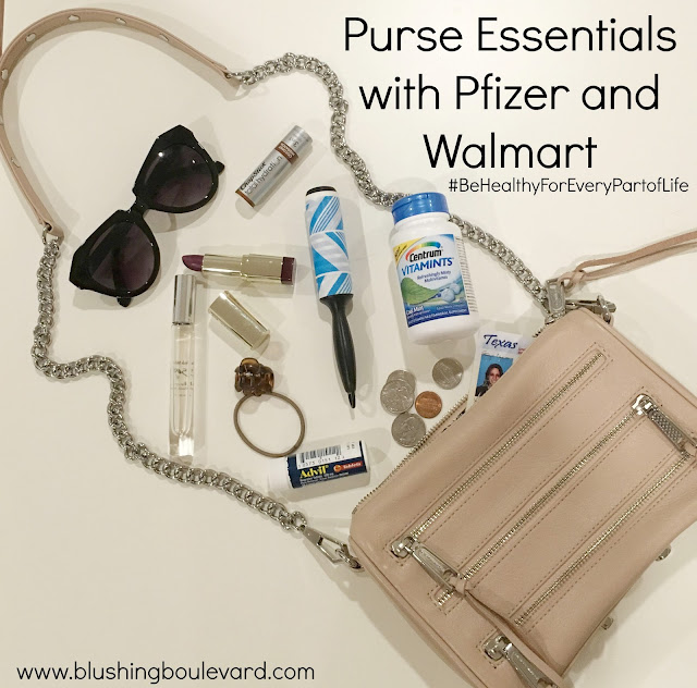 Purse Essentials with Pfizer and Walmart
