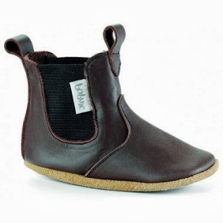 Bobux Child's Brown Chelsea Boot Kidsen