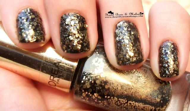 L'oreal Paris Color Riche Le Vernis Glitter Review Swatch Price Buy Online India
