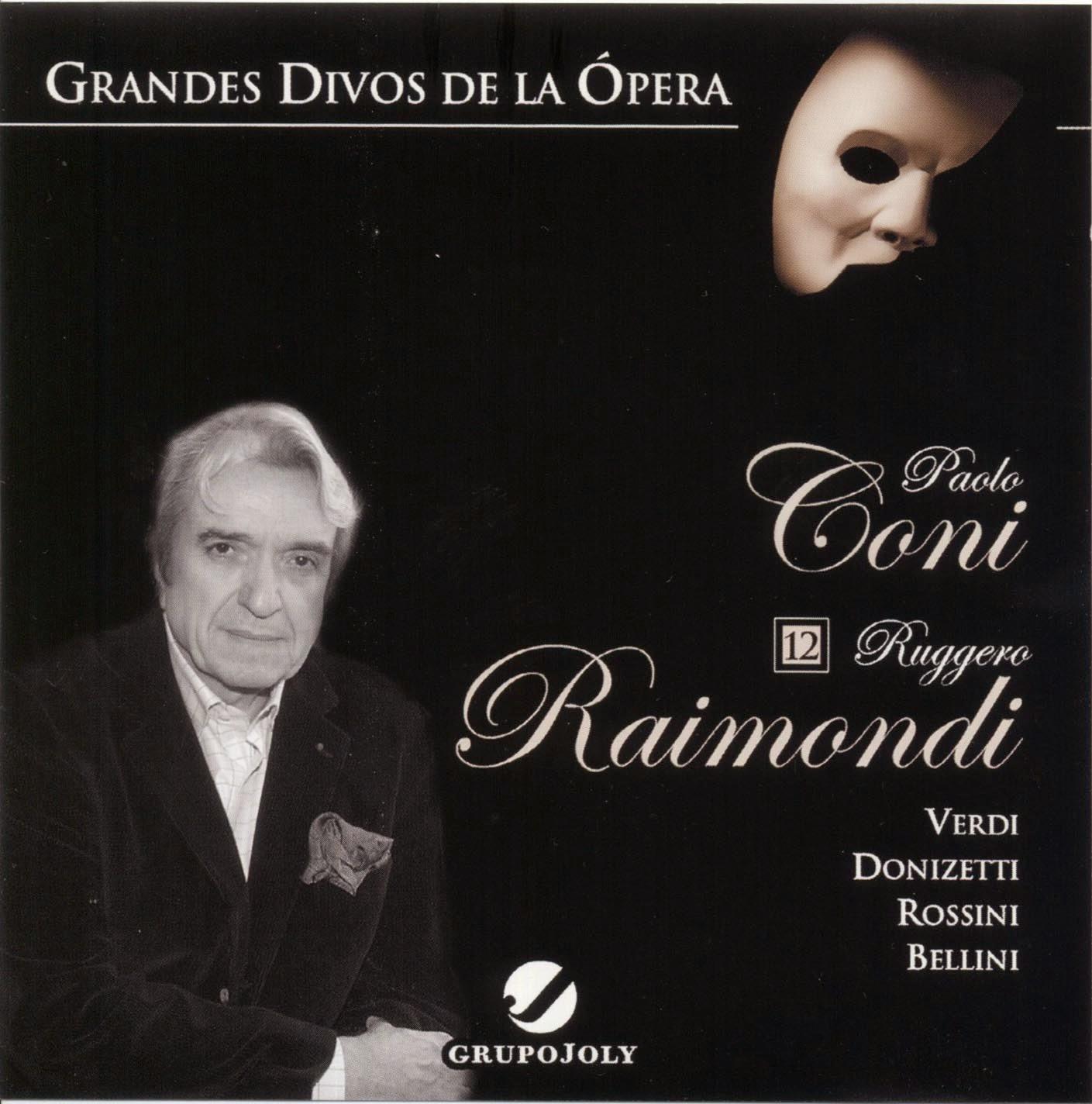 Grandes Divos de la Ópera-cd12-Paolo Coni & Ruggero Raimondi-carátula frontal