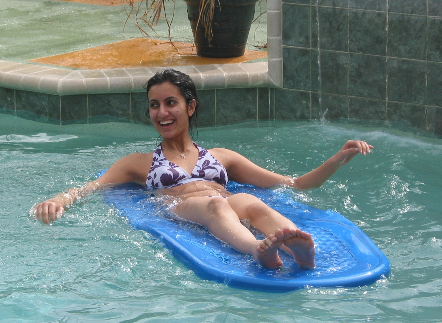 Bikini Girls At Water Parks