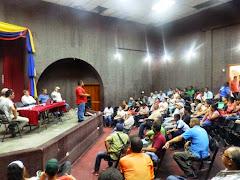 Realizaron Gabinete móvil con los consejos comunales en Tucaní