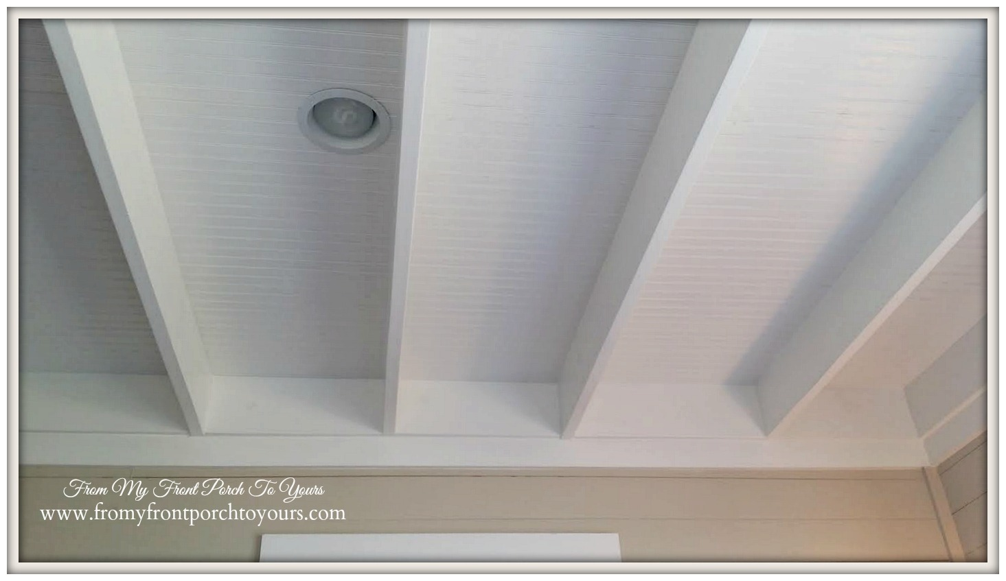 Beadboard Ceiling-Texas Farmhouse-RoundTop Texas-Trendmaker Homes-From My Front Porch To Yours