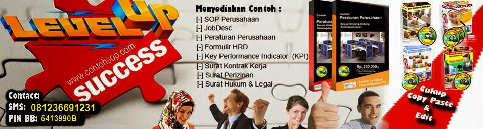 Kumpulan Contoh SOP Perusahaan 2016