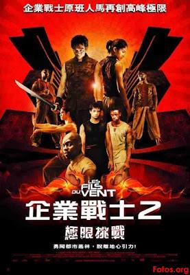 2004 El retorno de los Yamakasi los hijos del viento Julien Seri coreano El retorno de los Yamakasi: Los hijos del viento (2004) Español