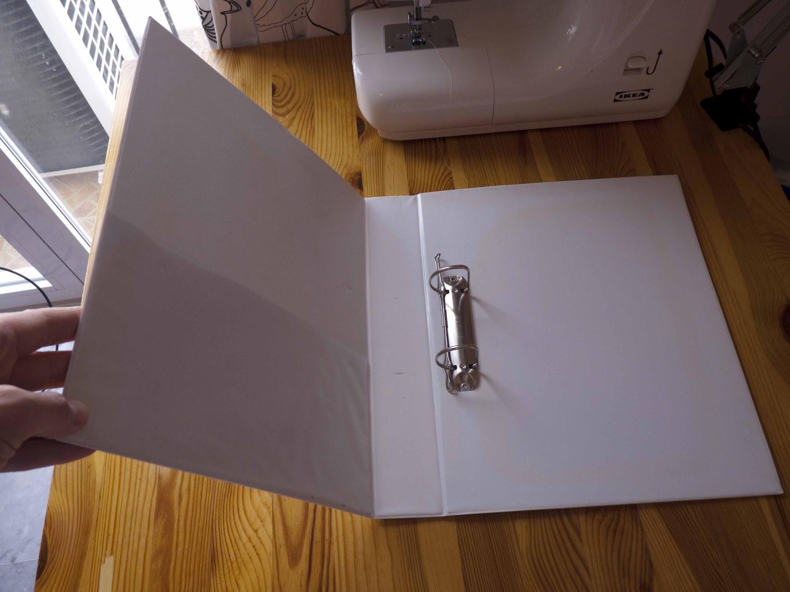 Las cositas de marga manualidades lbum para fotos con t cnica patch work y material reciclado - Manualidades album de fotos casero ...