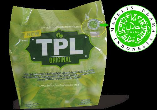 Logo Halal MUI Teh New TPL Original