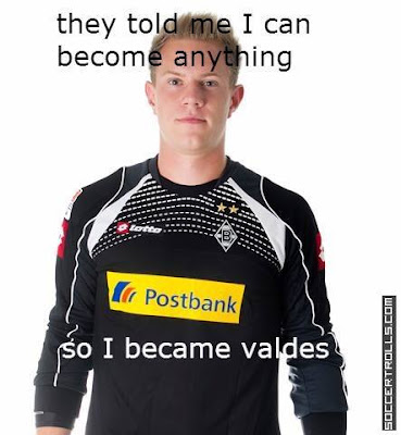 ter Stegen: They told me I can become anything so I became Valdes