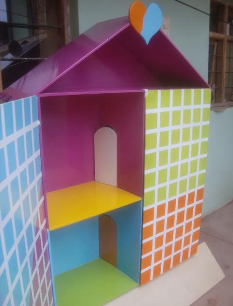 Decoraciones manualidades en madera como pintar casa de - Formas de pintar una casa ...