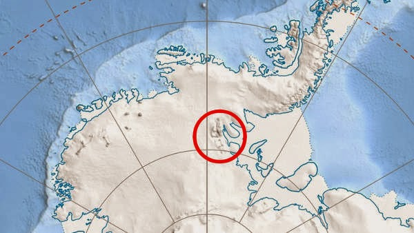 Ellsworth Antartika