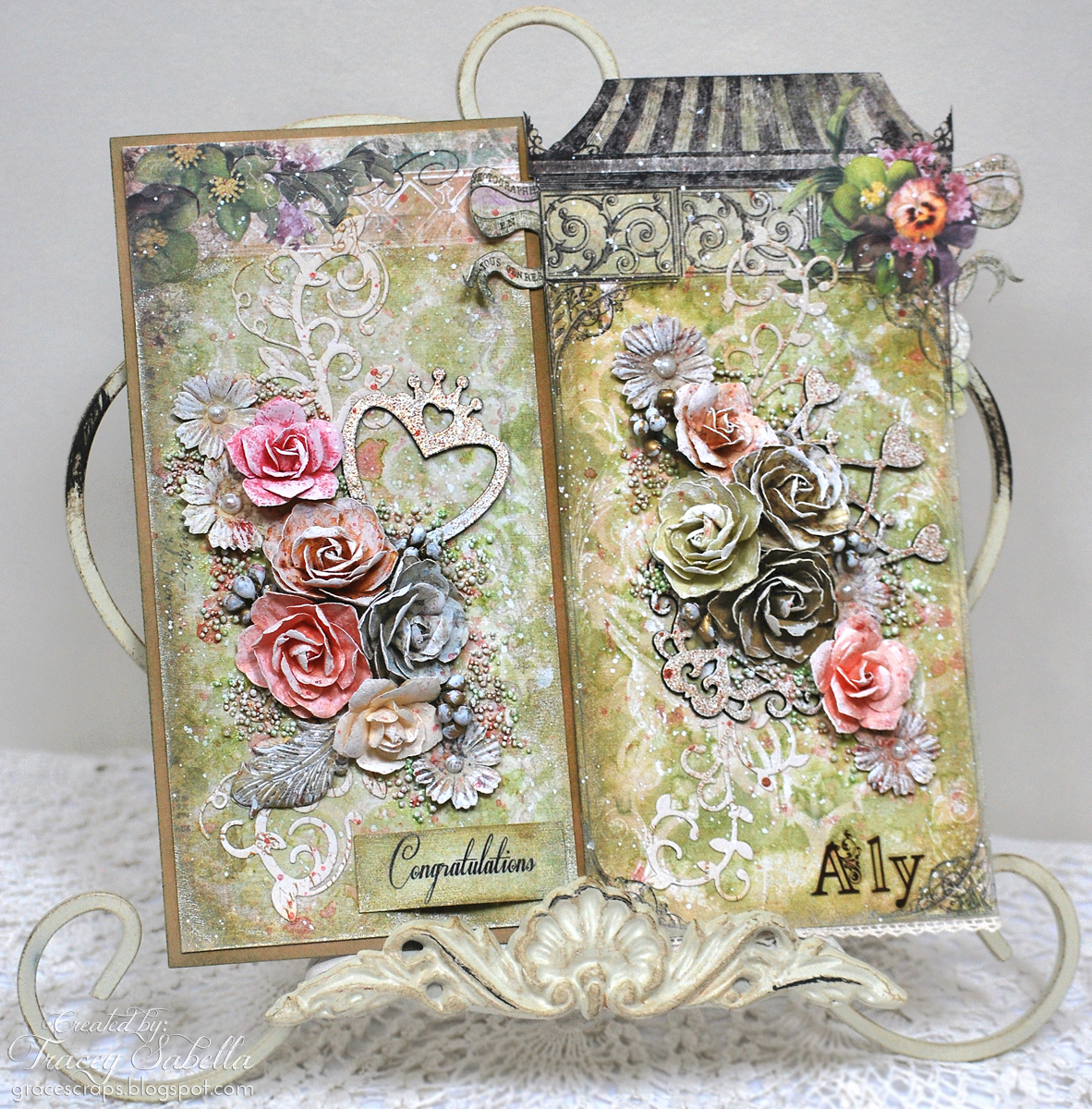 Scraps of Darkness and Scraps of Elegance: Shabby Chic Tag / Wall ...