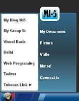 cara cepat membuat menu start windows pada blog