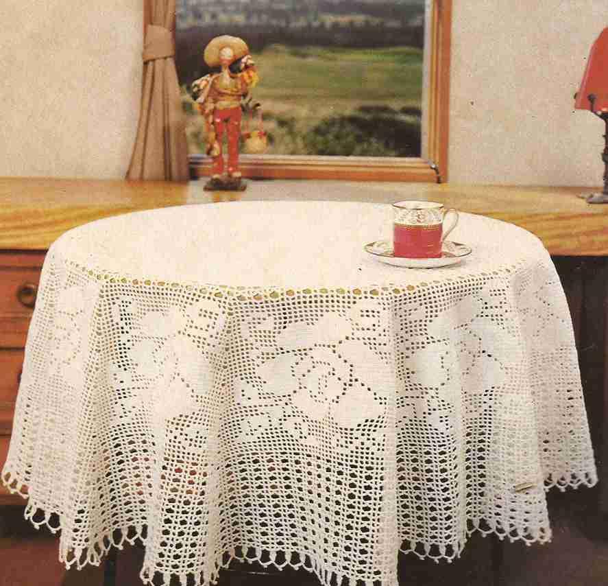 "Tapete ""Pirueta"" a Crochet"