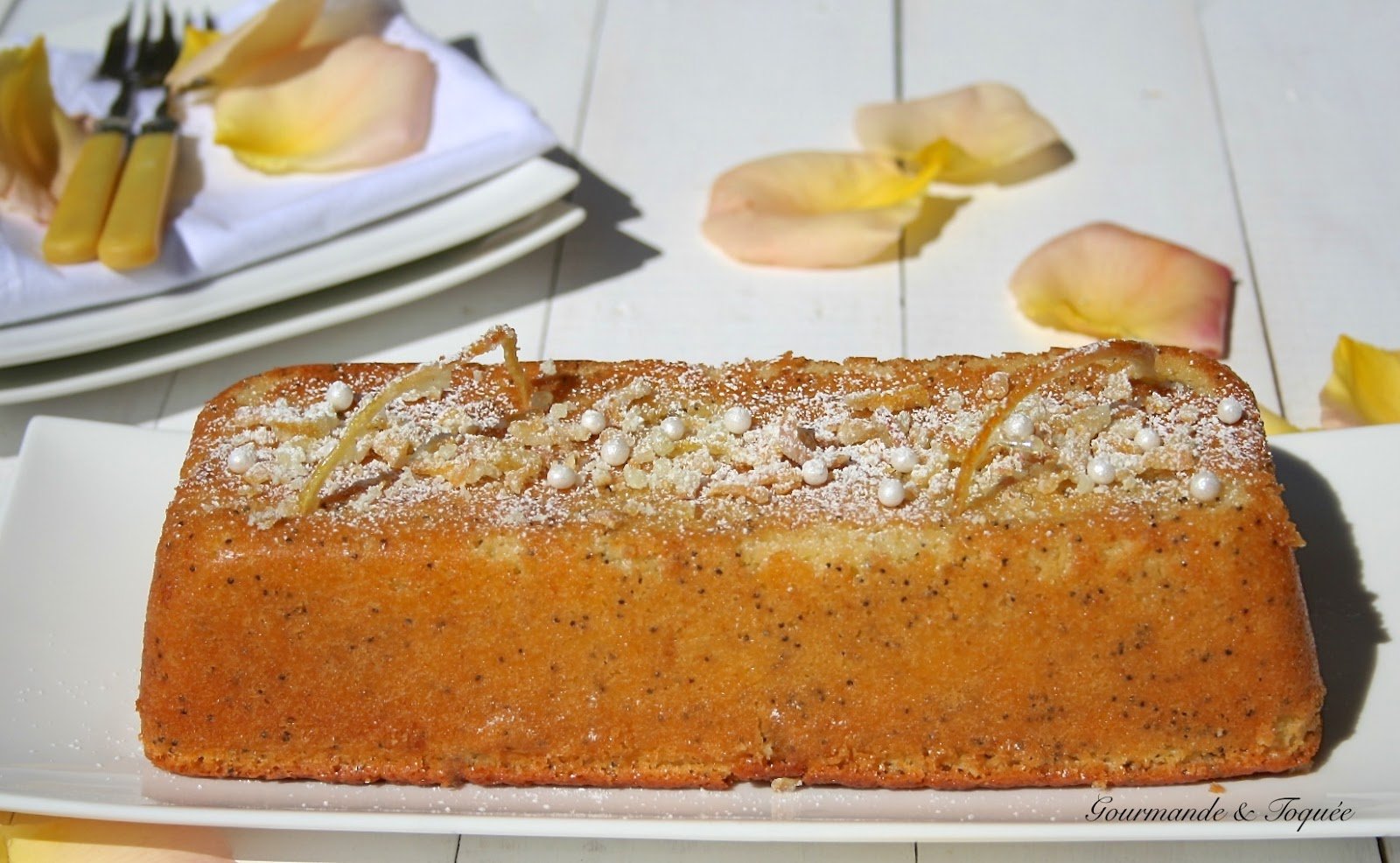 Cake Citron Pavot Creme Fraiche
