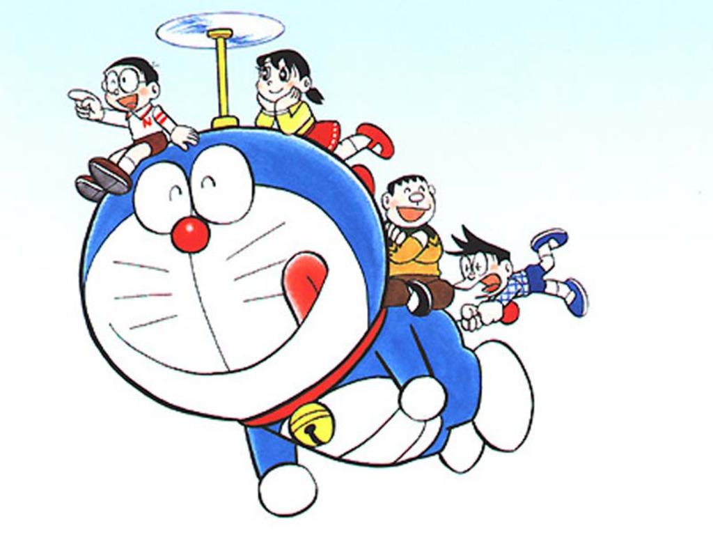 wallpaper doraemon hd keren