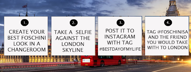 Jane Wonder || WIN a trip to London with Foschini #BestDayOfMyLife