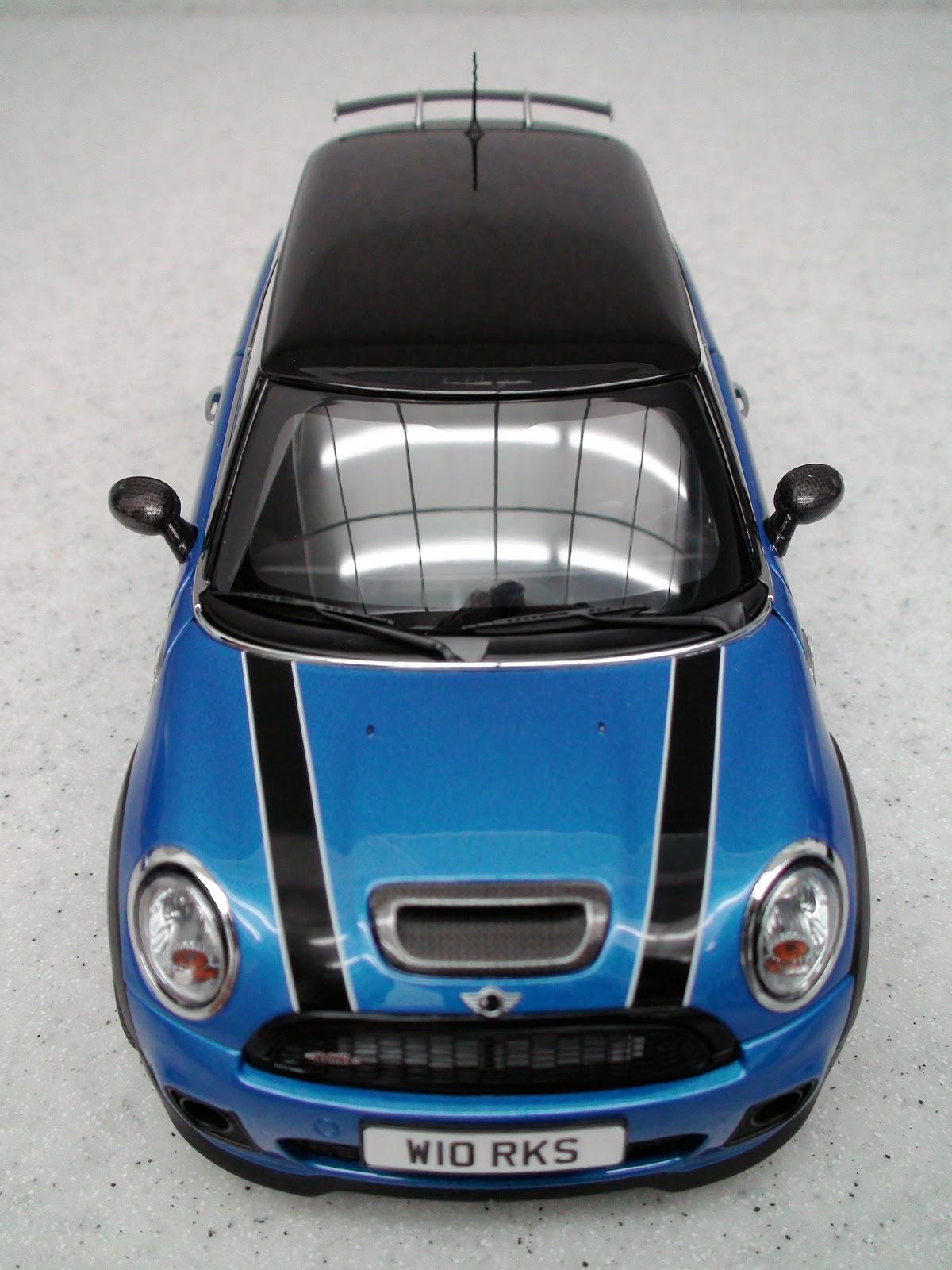 pseudo cars mini cooper s r56 john cooper works 2007. Black Bedroom Furniture Sets. Home Design Ideas