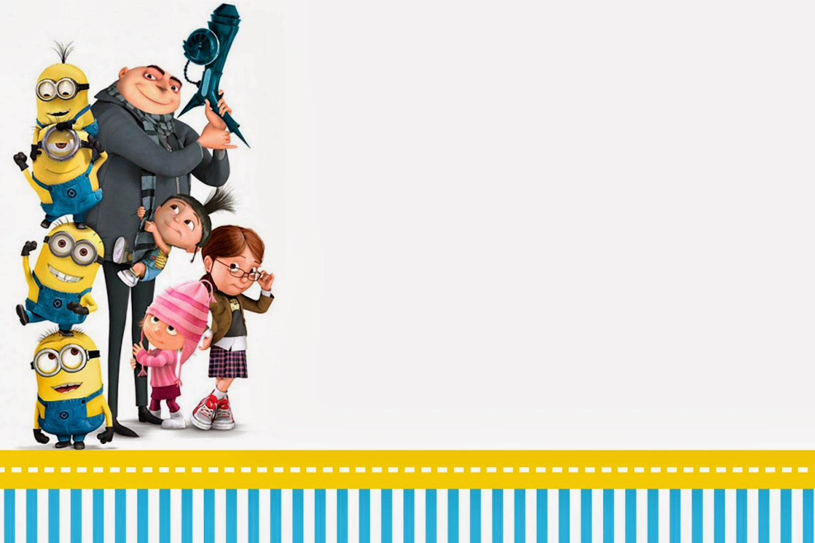 Despicable Me Invitations And Party Free Printables Is It For