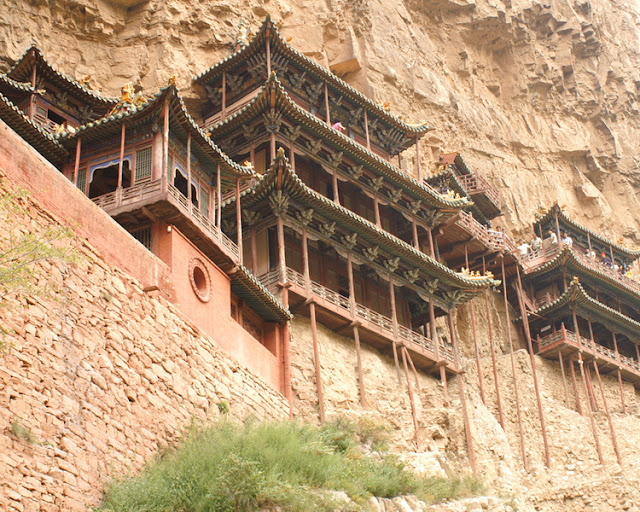 The Hanging Temple - China