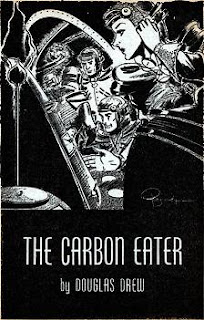 Illustration accompanying the original publication in Astounding Science Fiction magazine of short story The Carbon Eater by Douglas Drew
