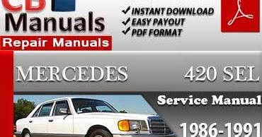 mercedes 420sel repair manual ultimate user guide u2022 rh lovebdsobuj com 1988 Mercedes-Benz 420SEL 1999 Mercedes-Benz 420SEL