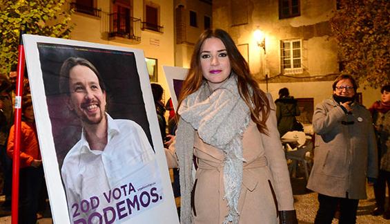 La diputada granadina de Podemos renuncia a los privilegios del cargo