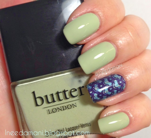butter london bossy boots nail swatch