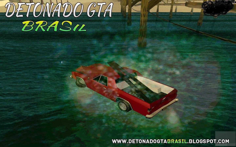 GTA SA - Mod Carros Andar Sobre a Água[Cars water]