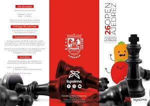Bases del XXVI Torneo de Ajedrez Granada-La Palma