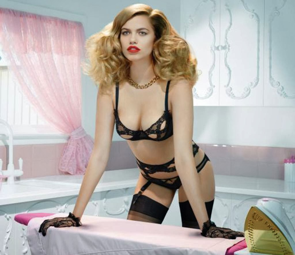 Hailey Clauson 2014 Agent Provocateur