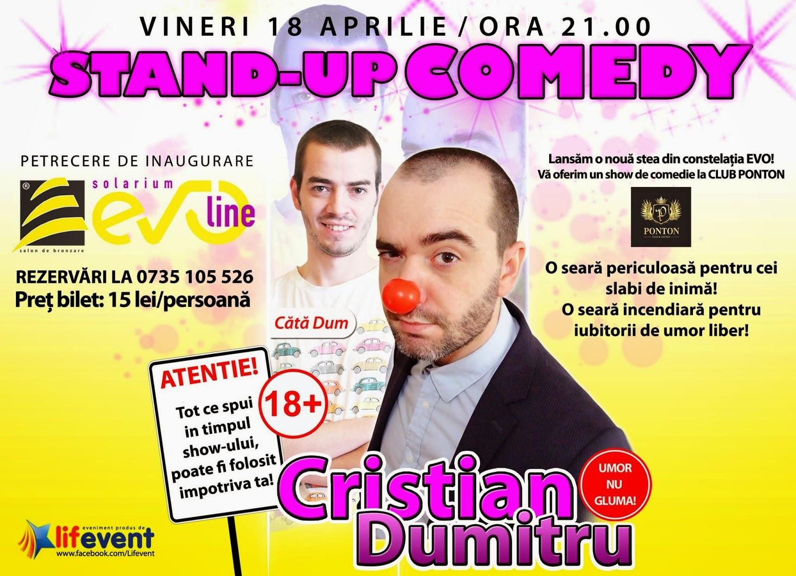 stand-up comedy comanesti vineri