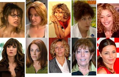 María Botto, Cristina Marcos, Angels Goyalons, Mercedes Sampietro, Inma del Moral