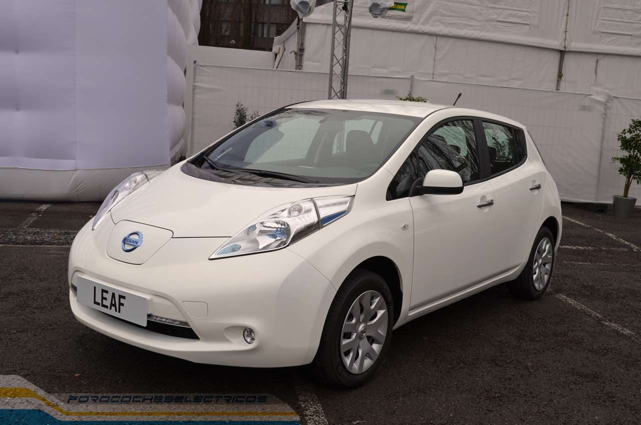 nuevo nissan leaf forococheselectricos. Black Bedroom Furniture Sets. Home Design Ideas