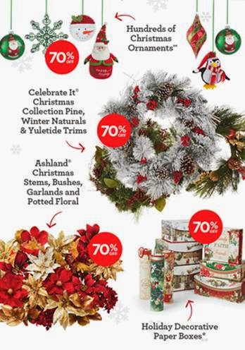 i just found out that michaels has started their annual 70 holiday decor sale which runs through dec 14th right now you can head to your local michaels - Michaels Christmas Ornaments