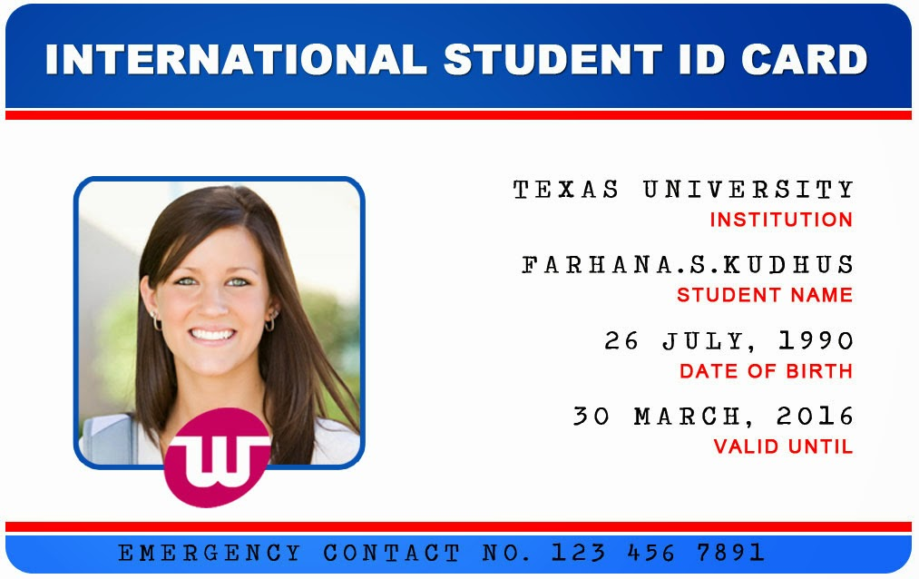 Id Card - Coimbatore - Ph: 97905 47171: International University