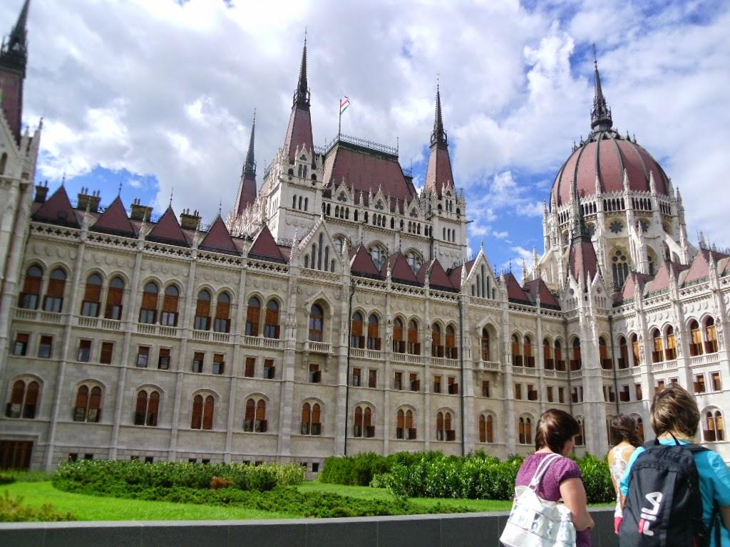 Jardim do Parlamento de Budapeste