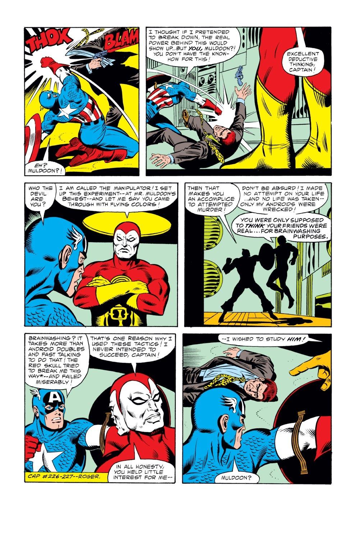 Captain America (1968) Issue #242 #157 - English 16