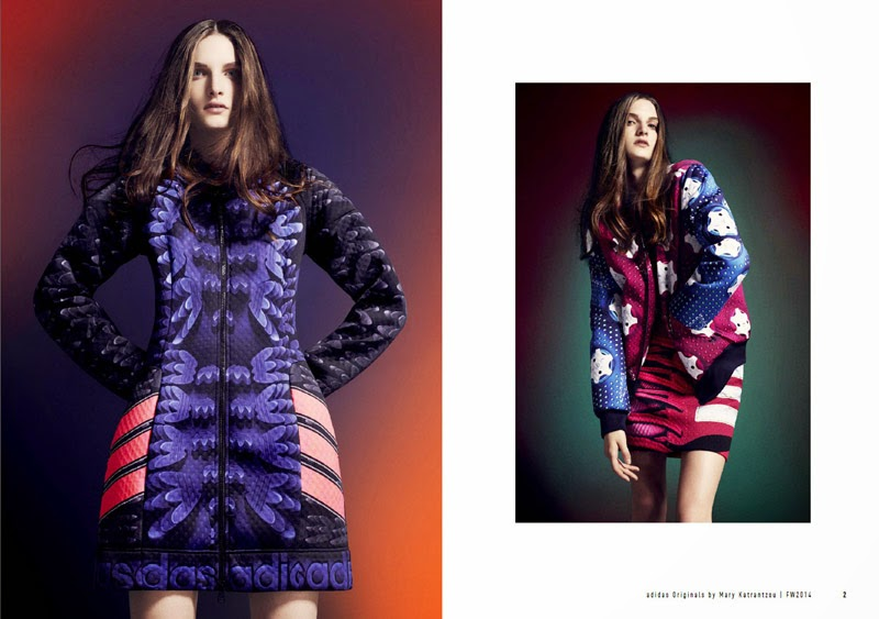 Collaboration: Mary Katrantzou x Adidas Originals