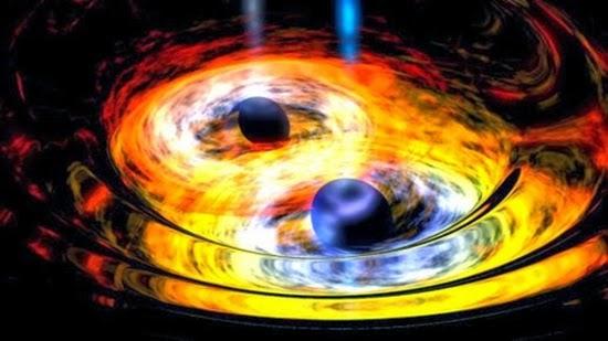 Dua Lubang Hitam Supermasif dalam Satu Galaksi