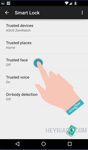 Mengunci Android Menggunakan Wajah