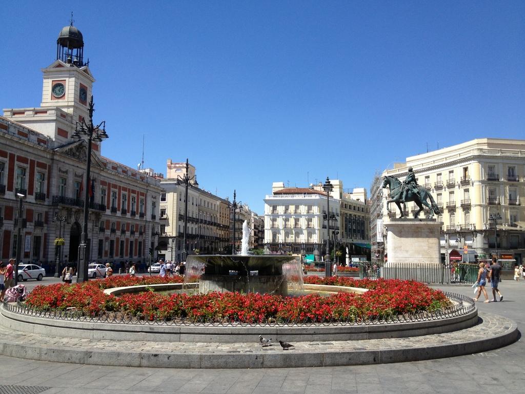 Madrid puerta del sol for Puerta del sol 9 madrid