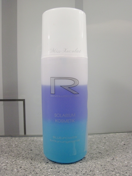 Revolution Tan Solarium Kosmetik Blue Power