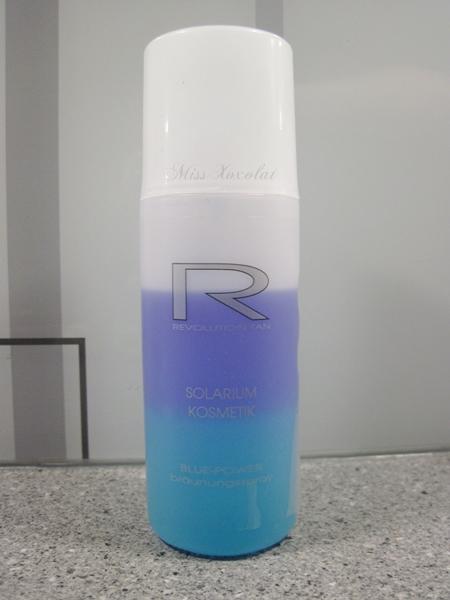 Revolution Tan Solarium Kosmetik Blue Power