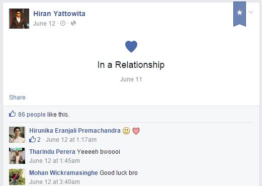 Hirunika Premachandra to marry Hiran Yattowita