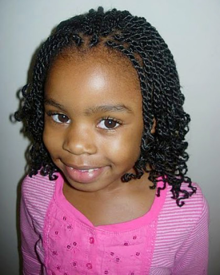 black relaxed hairstyles : black little girls hairstyles 2014 2015 image black little girls