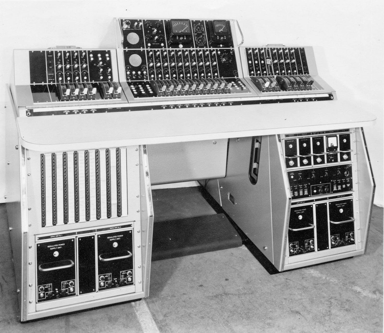 Vintage Audio Workshop  Marconi  Bbc  Bd940 Valve Mixer  1940s