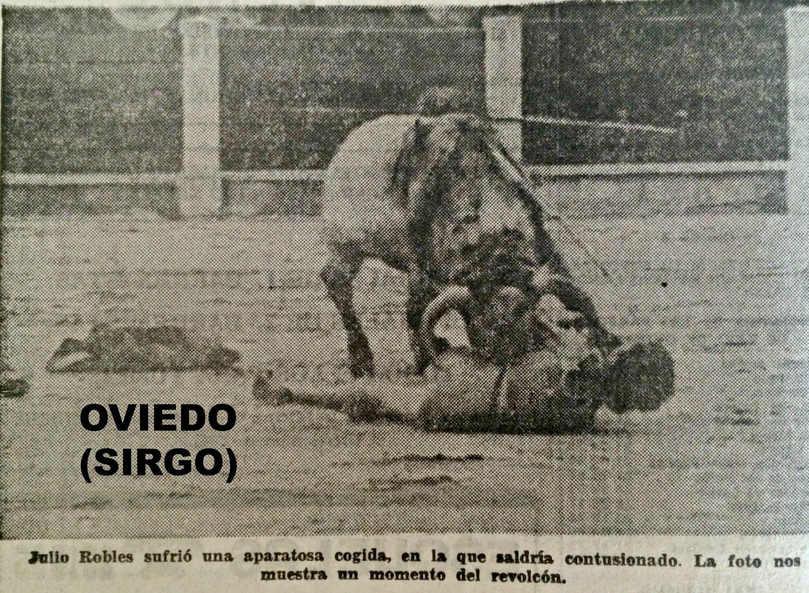 OVIEDO COGIDA JULIO ROBLES